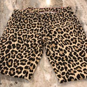 Kate Spade sz 27 leopard jeans